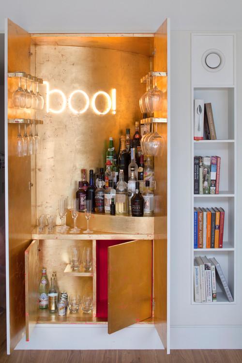 Come sfruttare al meglio un angolo dimenticato della casa - Angolo bar a casa ...