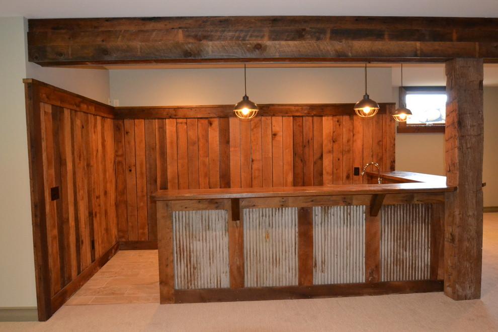 Oak Manor Inventory Home 2 - Rustic - Home Bar ...
