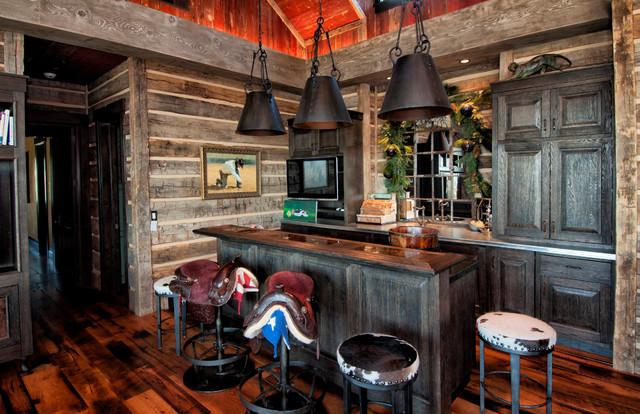 Superieur Park City Resident Home, Utah Rustic Home Bar