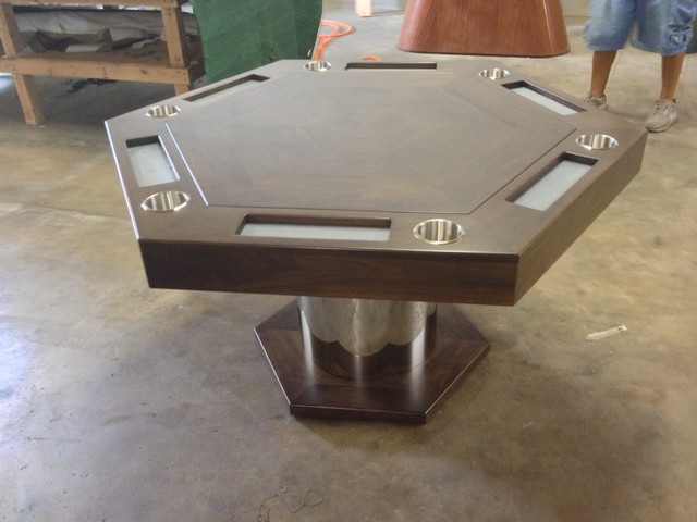 Poker Card Table By Mitchell Exclusive Billiard Designs