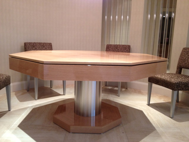 Exceptional Poker / Dining Table By MITCHELL By MITCHELL Pool Tables  Contemporary Home Bar
