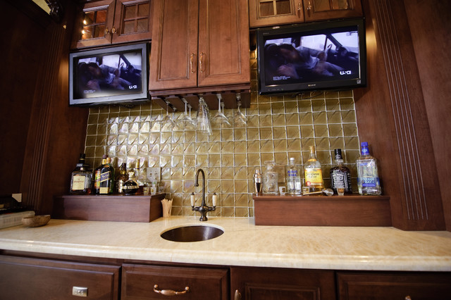 Pool Side South African Theme Sports Bar Theater Poker Eclectic Home Bar Philadelphia By