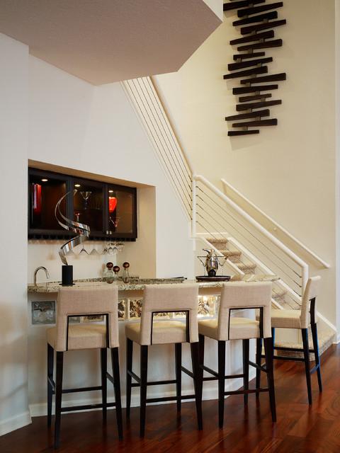 Private Residence 10, Polo Club, Boca Raton, FL contemporary-home-bar