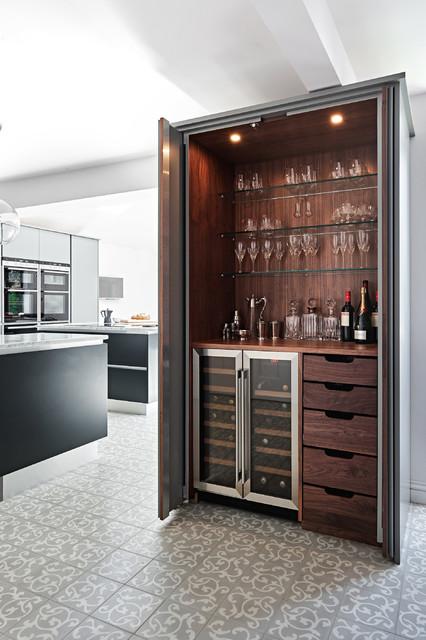 Private residence south west moderno angolo bar for Angolo bar moderno