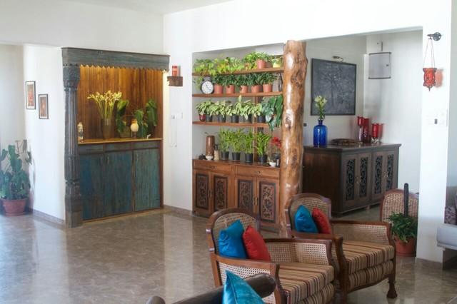 Priyanka Mayank Residence Nasik India Eclectic Home Bar Mumbai By Uttara And Adwait