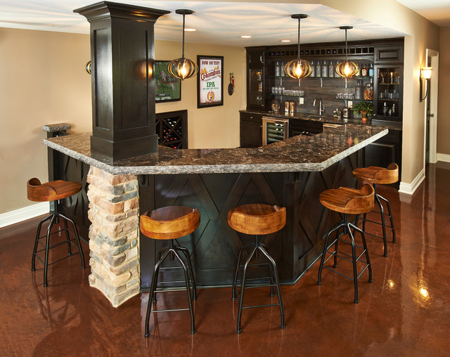 Perfect Home Style Bar