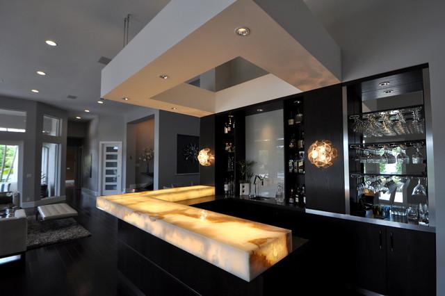 Hausbar Design renovation delray fl minimalistisch hausbar
