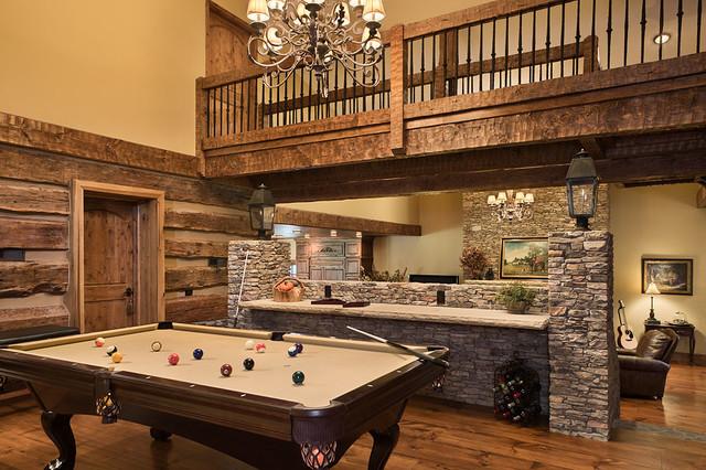 Repurposed Barn Rustic Home Bar