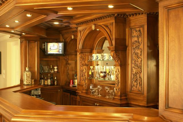 Residential Bar Nj Traditional Home Bar Newark By