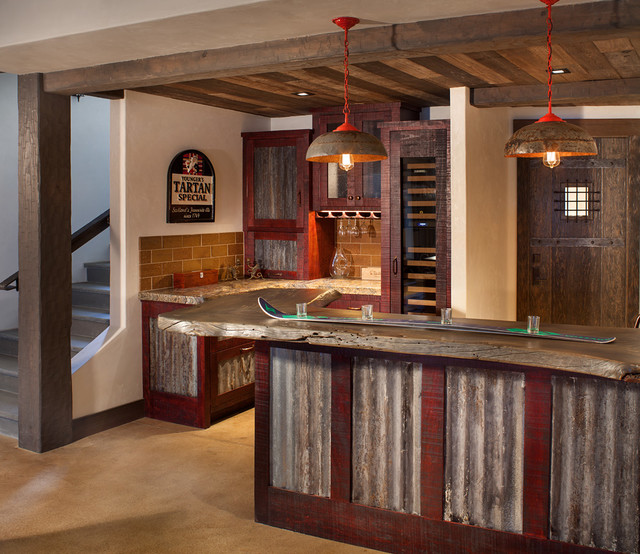 Lake Home Bar Design Ideas: Robertson Lake House