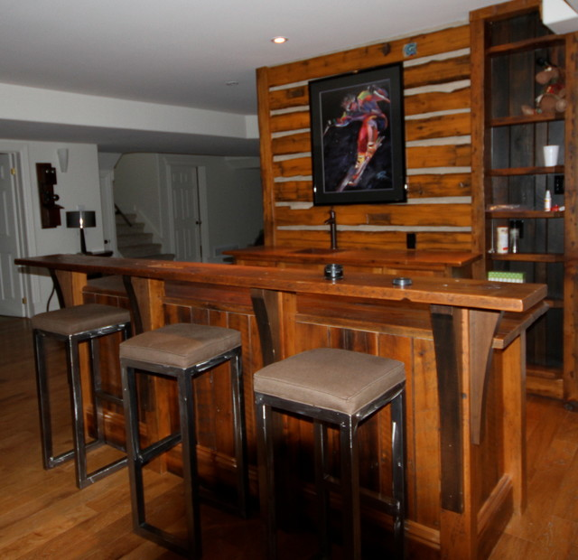 Rustic Bar And Entertainment Center Rustic Home Bar