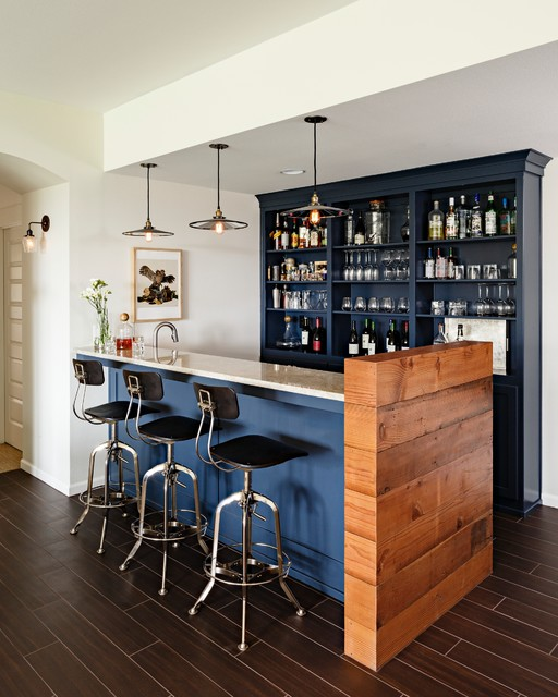 Home Bar Design Ideas Houzz: Sherwood Custom Home