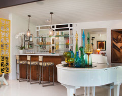South Canyon: Colorful Modern Mix midcentury-family-room