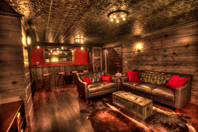 Speakeasy Home Bar Industrial Other Metro