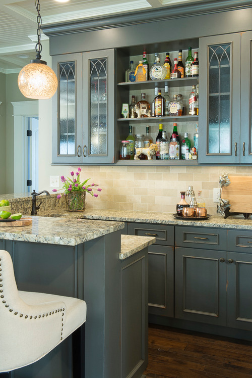 design home bar. Photo by City Lights  Design and Build More traditional home bar ideas Trending Now 8 Popular Ideas in Home Bars