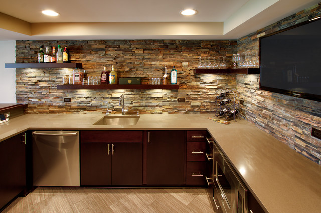 St charles il basement and bar - Home bar shelving ideas ...