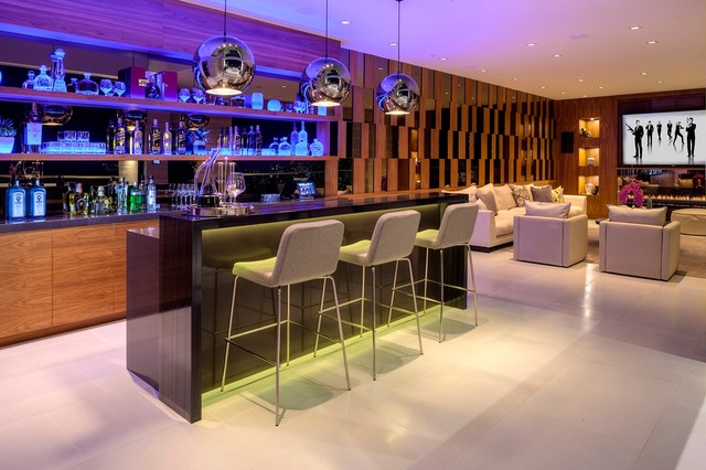 Modern Home Bar. Bar Furniture For The Home How To Design Modern Bar ...