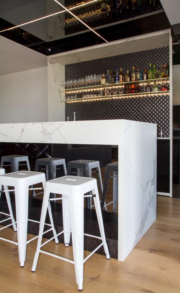 St Kilda Kitchen, Bar & Laundry - Modern - Home Bar ...
