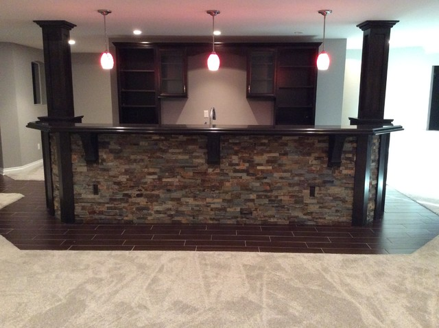 High Quality Stone Face Bar Home Bar