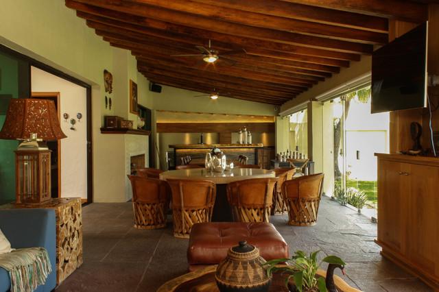 Terraza Chapala R Stico Bar En Casa Otras Zonas De