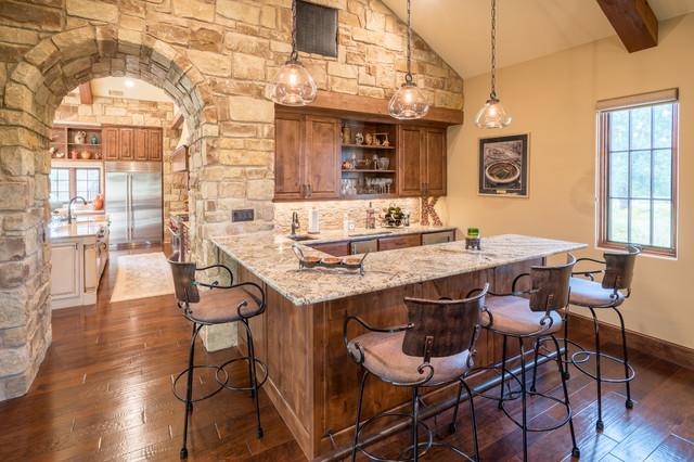 Texas Hill Country Home - Mediterranean - Home Bar - Austin - by ...