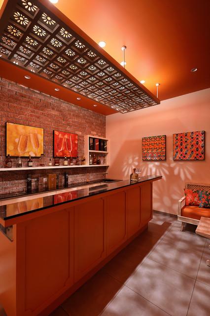The Pavilion House asian-home-bar