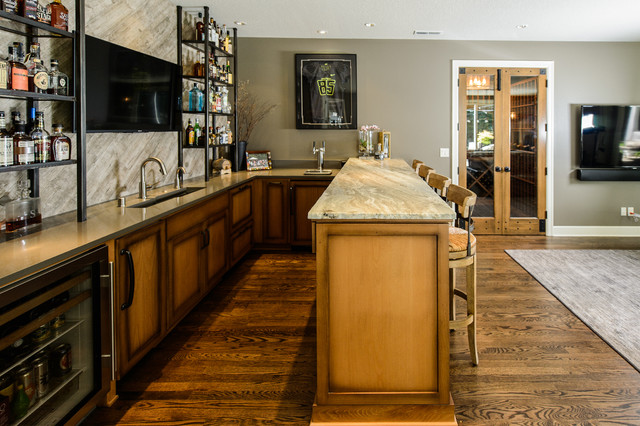 Man Cave Home Bar : The ultimate man cave traditional home bar other