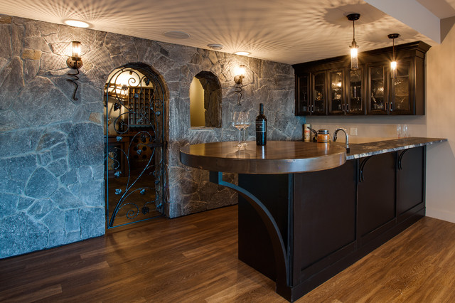 Tommie Award Winner 2016 Private Residence Mediterranean Home Bar Vancouver By Norelco