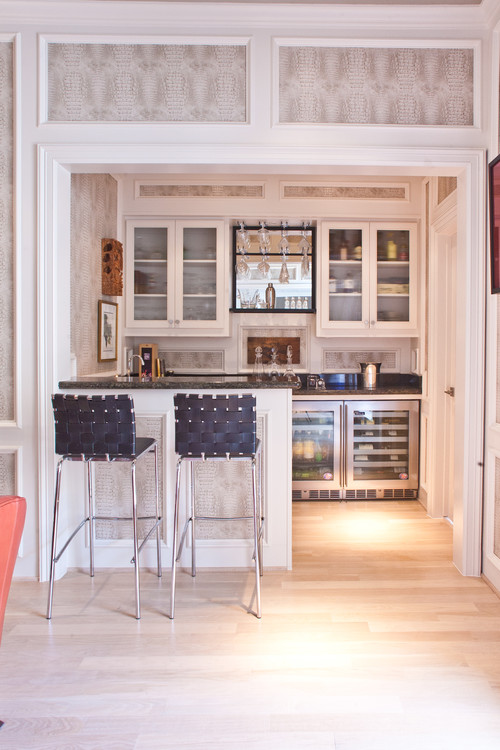 Bar Refrigerators - Photo Courtesy of Houzz
