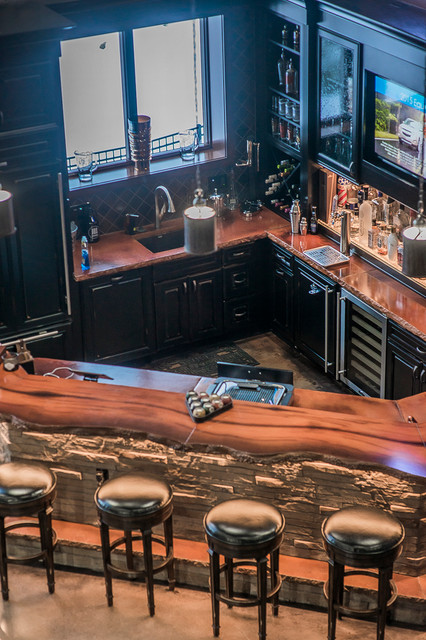 Scintillating Custom Home Bar Builders Pictures - Best Image Engine ...