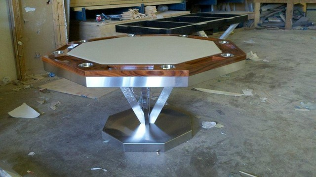 Vue Poker Table By Mitchell Pool Tables Modern Home