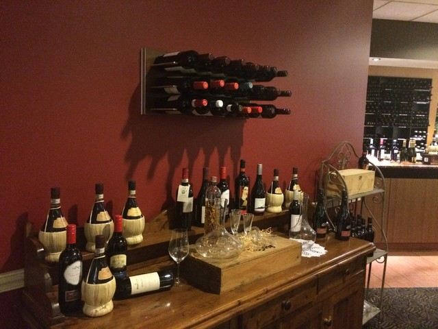 wall mounted wine storage system stact wine racks moderne bar de salon san francisco. Black Bedroom Furniture Sets. Home Design Ideas