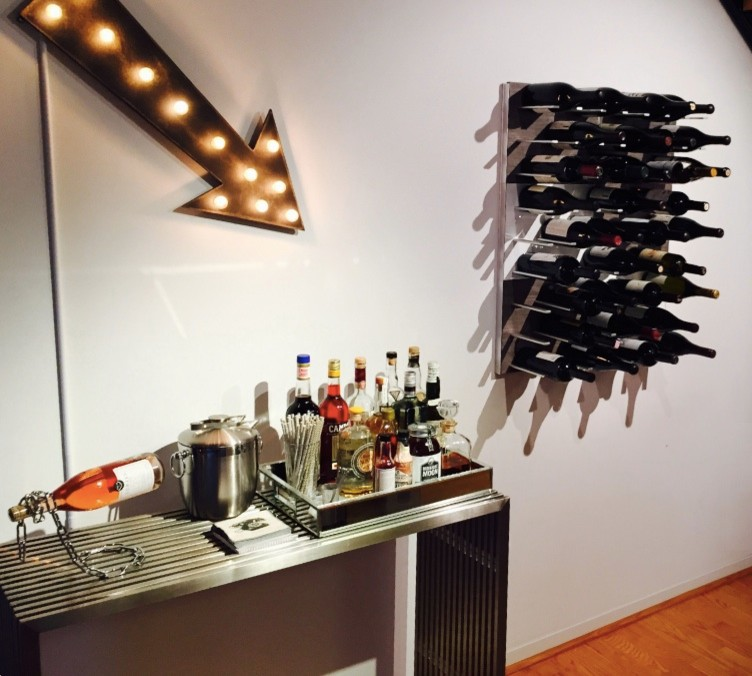Wall-mounted wine storage system - STACT Wine Racks ...