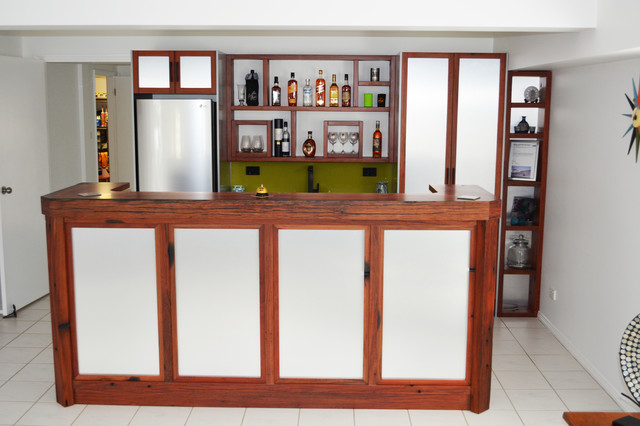 wangi wangi bar kitchenette contemporary home bar newcastle
