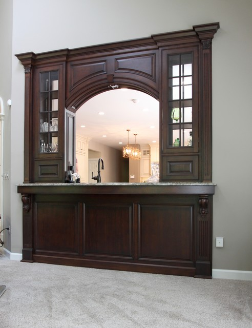 Warrenton Custom Wet Bar
