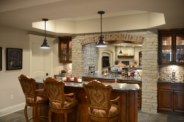 West Des Moines Modern Home Bar Other By Clarity Construction