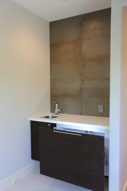West University Master Bathroom Houston Texas 2015 Modern Home Bar Houston By