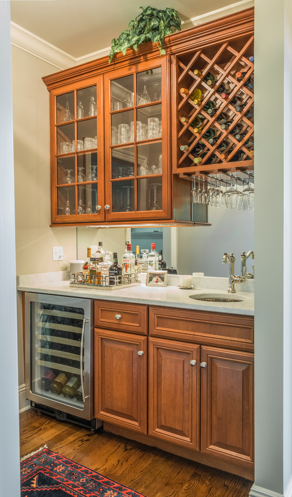 Westchester - Flush Beaded Inset - Transitional - Home Bar ...