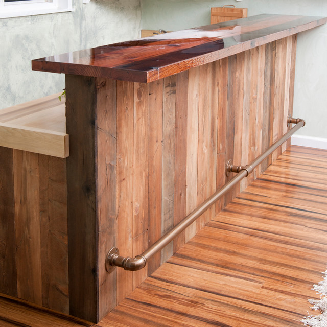 Western Rustic Bar Home