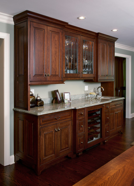Wet Bar Cabinets Custom Wood Products Traditional