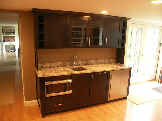 Wet bar contemporary boston by cabot building Wet bar images