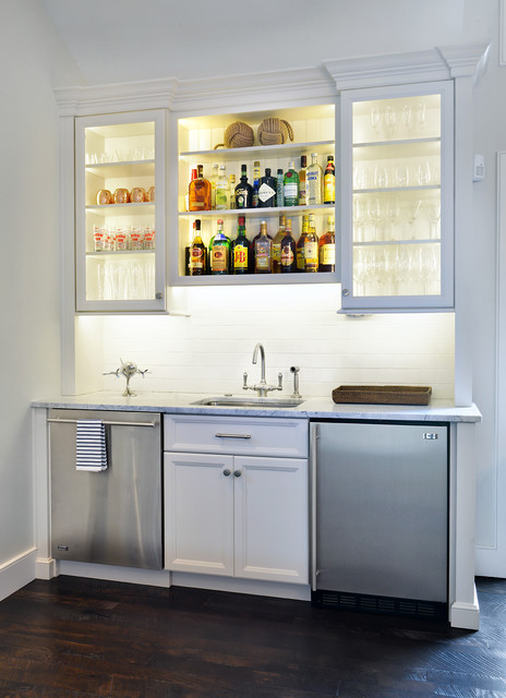 Wet Bar - Transitional - Dining Room - charleston - by Distinctive Design / Build / Remodel, LLC.