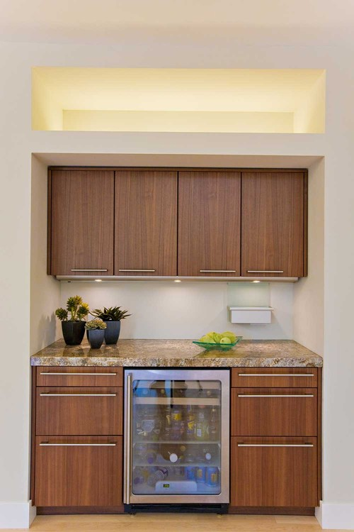 Walnut Cabinets Are In Need Help With Pull Placement