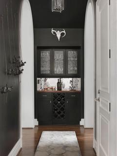 butler 39 s bar klassisch modern hausbar st louis von joni spear interior design. Black Bedroom Furniture Sets. Home Design Ideas