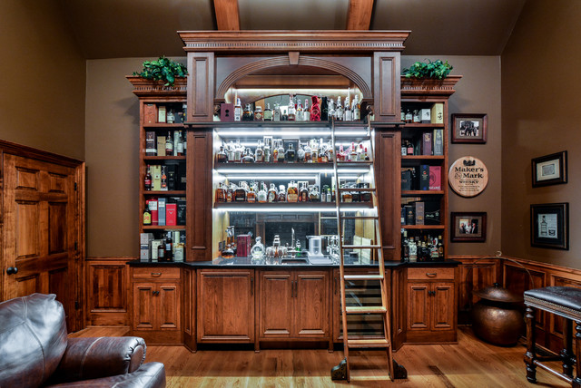 Whiskey Bar Retreat Traditional Home Bar Other By Cabinet Concepts By Design Houzz Au