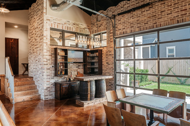 Whitestone Builders Industrial Rustic Transitional