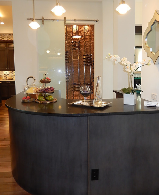 wine bar moderne bar de salon tampa par arthur. Black Bedroom Furniture Sets. Home Design Ideas