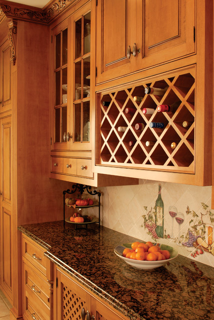 Country Kitchen Wine Rack