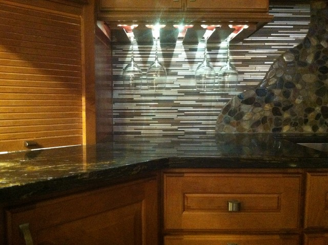 Wine Rack RGB LED Lighting - Home Bar - other metro - by PHS Lighting Solutions