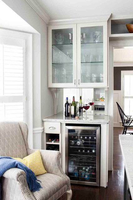 Woodchuck Kitchen Renovation - Contemporary - Home Bar - Atlanta - by Terracotta Design Build
